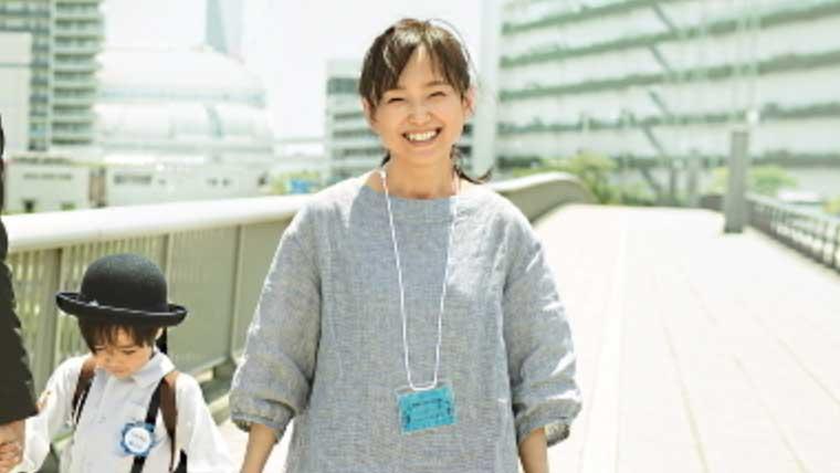 映画朝がくるに出演時の永作博美さん