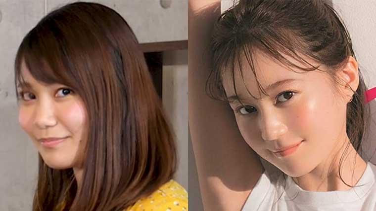 ターリーターキーの伊藤那美と生田絵梨花の画像