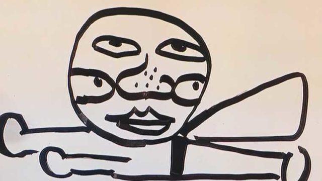 八乙女光さんが書いたアンパンマンの絵