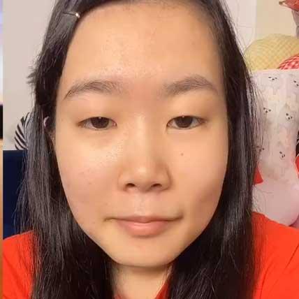すっぴんの尼崎のなつみかんの顔画像