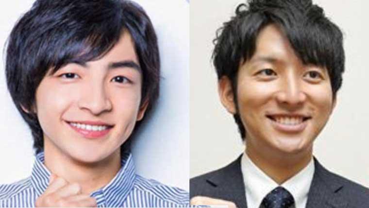 川崎皇輝と生田竜聖との顔比較画像