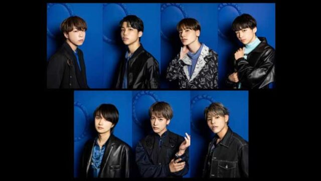 BE:FIRST7人のメンバー画像